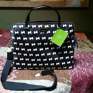 Kate Spade Wilson Road Daveney Nylon Laptop Bag